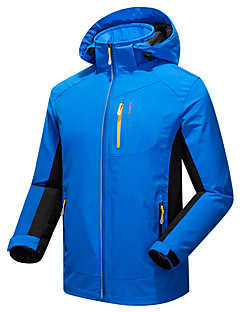 cheap Outdoor Clothing-Men's Hiking Softshell Jacket Outdoor Winter Waterproof Thermal / Warm Windproof Ultraviolet Resistant Anti-Eradiation Wearable