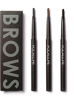FOCALLURE 3 Colors Eye Brow Eyeliner Eyebrow Pen Cosmetic Beauty Care Makeup for Face