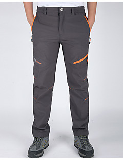 cheap Hiking Trousers & Shorts-Men's Hiking Pants Outdoor Waterproof Thermal / Warm Quick Dry Windproof Breathable Lightweight Materials Pants / Trousers Bottoms