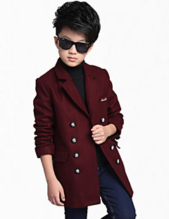 Boy's Cotton Jacket & Coat,All Seasons / Spring / Fall Color Block