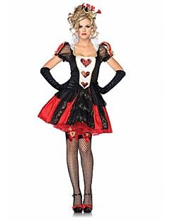 Cosplay-Asut Punainen Teryleeni Cosplay-tarvikkeet Halloween Karnevaali