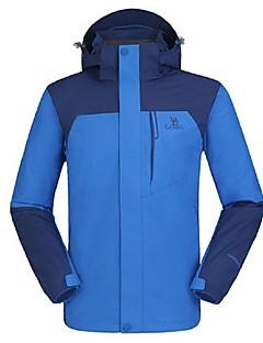男性用 3-in-1 ジャケット 防水 保温 防風 フリースライナーつき 耐久性 高通気性 YKKジッパー ダブルファスナー YKKジッパー ウインドブレーカー トップス のために スキー キャンピング&ハイキング 登山 スノースポーツ 冬 M L XL XXL XXXL-