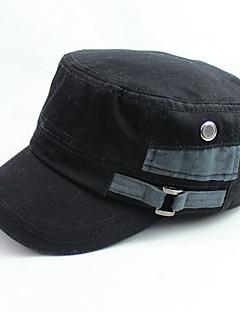 billige Trendy hatter-Unisex Fritid Baseballcaps Ensfarget Polyester