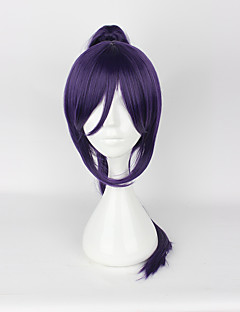 cheap Anime Cosplay-Cosplay Wigs Love Live Cosplay Purple Medium Anime Cosplay Wigs 50CM CM Heat Resistant Fiber Unisex