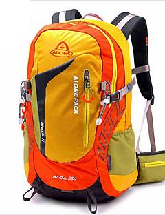 billiga Ryggsäckar och väskor-36-55L Ryggsäckar / Cykling Ryggsäck / Rese Duffelväska - Vattentät, Andningsfunktion, Stötsäker Camping, Klättring, Fritid Sport Nylon