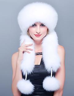 Feminino Esqui / Aviador Feminino Fofo / Casual Inverno Pêlo Sintético