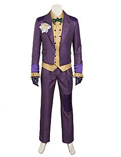 tanie Kostiumy filmowe i telewizyjne-Super Heroes Nietoperz Pająk Kostiumy Cosplay Rekwizyty na Halloween Kostium imprezowy Męskie Kostiumy z filmów Krawat Płaszcz Bluzka Święta Halloween Karnawał Skóra