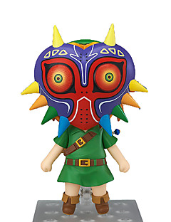Anime Action Figures geinspireerd door The Legend of Zelda Link Anime Cosplay Accessoires figuur Groen PVC