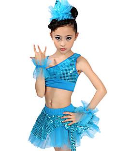tanie Stroje baletowe-Taniec latynoamerykański / Balet Stroje Spandeks Cekin Natutalne / Spektakl