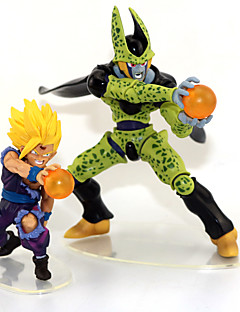 Anime Action Figurer Inspirert av Dragon Ball Son Gohan Anime Cosplay Tilbehør figur Grønn PVC