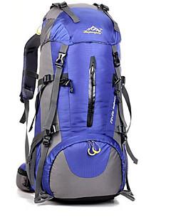 billiga Ryggsäckar och väskor-50L Ryggsäckar / Cykling Ryggsäck / ryggsäck - Vattentät, Andningsfunktion, Stötsäker Camping, Klättring, Fritid Sport Terylen Grön,
