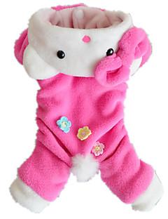 billiga Hundkläder-Katt Hund Jumpsuits Hundkläder Djur Manchester Kostym För husdjur Herr Dam Gulligt Ledigt/vardag