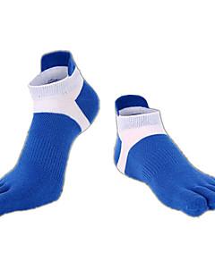Herre Sokker Tå Sokker Anti-skli sokker Sportsokker Yoga & Danse Sko Pilates Pustende Anvendelig Anti-Sklining Bekvem Beskyttende-1 par