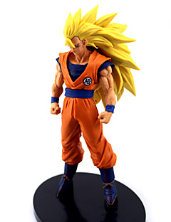 billige Anime Cosplay Tilbehør-Anime Action Figurer Inspirert av Dragon Ball Goku Anime Cosplay-tilbehør figur PVC Halloween-kostymer