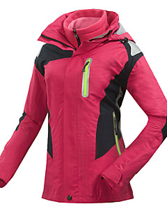Women's Ski Jacket Waterproof Thermal / Warm Quick Dry Windproof Ultraviolet Resistant Anti-Eradiation Breathable Outdoor Softshell