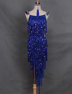 Werden wir Latin Tanz Kleider Frauen Performance Spandex Kleid