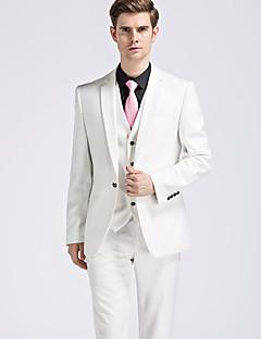 Erkekler artı boyutu gündelik / günlük iş basit cadde şık takım elbiseleri (2 parça: sadece blazer + pantolon)