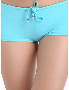 Dame Unisex Nederdeler Ensfarget Sport,Nylon Stropper Solid
