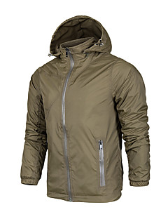 男性用 ハイキング ジャケット アウトドア 防水 防風 防雨 高通気性 トップス