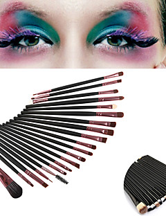 cheap Makeup Brushes-20pcs Professional Makeup Brushes Makeup Brush Set / Eyelash Comb (Round) / Liquid Eyeliner Brush Synthetic Hair / Nylon / Pony Portable