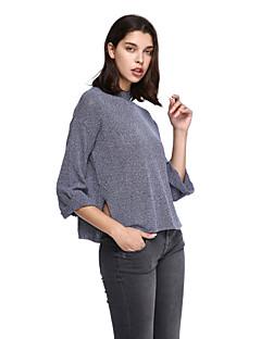 billige Lagersalg-Dame Store størrelser Pullover - Ensfarget