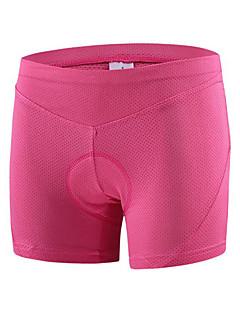 billige Sykkelklær-cheji® Undershorts til sykling Dame Sykkel Fôrede shorts Bunner Sykkelklær Fort Tørring Pustende Komprimering Bekvem Klassisk Trening &