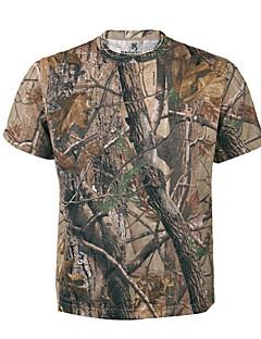 baratos Roupas de Caça-Homens Mulheres Unisexo Camiseta Blusas Caça Redutor de Suor Verão Ao ar livre 1 Pça.
