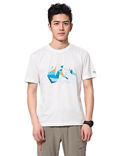Herrn T-Shirt für Wanderer Atmungsaktiv Antibakteriell Außen T-shirt Oberteile für Camping & Wandern Angeln Klettern Übung & Fitness