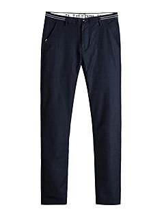 billige Herrebukser og -shorts-Herre Vintage Store størrelser Tynn Bedrift Chinos Bukser Ensfarget