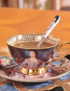 hesapli Çay Fincanları-drinkware Seramik Çay Fincanları / Su Şişeleri / Kahve Kupaları Taşınabilir 1 pcs