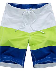billige Herrebukser og -shorts-Aktiv Bohem Bomull Løstsittende Shorts Chinos Bukser Lapper
