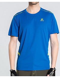 tanie Koszulki turystyczne-Damskie Dla obu płci Tričko na turistiku Quick Dry Topy na Sport i rekreacja Lato M L XL