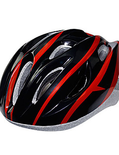 billiga Cykling-KUYOU Vuxen cykelhjälm 15 Ventiler CE Certifiering Stöttålig EPS, PC Vägcykling / Rekreation Cykling / Camping - Orange / Himmelsblå / Röd / Svart (röd ram)