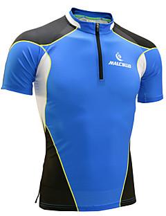 billige Løbetøj-Herre Løbe-T-shirt Kortærmet Hurtigtørrende Anatomisk design Ultraviolet Resistent Fugtpermeabilitet Åndbart Sweatshirt T-Shirt Toppe for