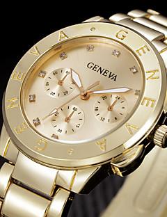 billige Modeure-Dame Armbåndsur Quartz Sølv / Guld Sej Analog Damer Mode - Guld Sølv Rose Et år Batteri Levetid / Rustfrit stål / SSUO 377