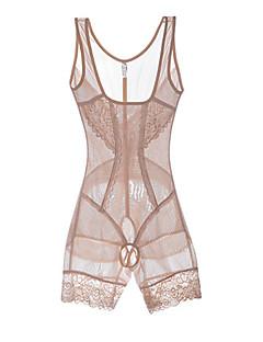 נשים מחוך מעל החזה Nightwear-תחרה מוצק ניילון