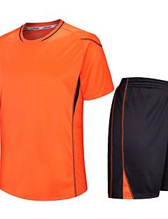 Děti Fotbal Sady oblečení Rychleschnoucí Prodyšné Jaro Léto Zima Podzim Terylen Fitness Volnočasové sporty Fotbal Běh