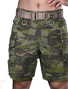Bremuda Shorts Waterproof Windproof Breathable Tactical Men's Classic Shorts Bottoms for Hunting Leisure Sports Spring Summer Fall/Autumn