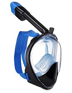 halpa Surffaus, sukellus ja snorklaus-Sukellus Maskit / Snorkkelimaski Sumua hylkivä, Kokokasvomaskit, Vedenalainen Single Window - Uinti, Sukellus Silikoni - varten Aikuiset