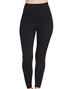 SBART Dame 2mm Våtdrakt - bukser Anatomisk design Pustende Komprimering Nylon Neopren Dykkerdrakt Tights Dykkerdrakter Bunner-Yoga &