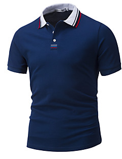 cheap Men's Fashion & Clothing-Men's Work Active Cotton Polo - Solid Colored