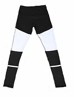 בגדי ריקוד נשים מכנסי ריצה נושם רך נוח נמתח טייץ רכיבה על אופניים תחתיות ל יוגה כושר גופני ריצה טרילן רזה S M L