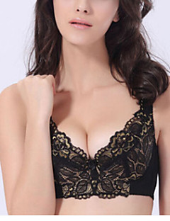Bras,Push-up Detachable Straps Double Strap Cotton