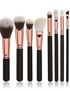 voordelige Make-upborstels-8 stuks professioneel Make-up kwasten Brush Sets / Contour Brush / Foundationkwast Synthetisch haar Professioneel / Beugel Hout Oog /