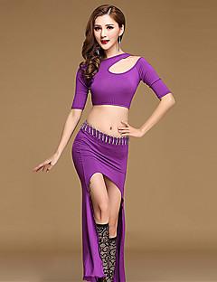 יהיה לנו ריקוד בטן נשים אימון מודאלית חצאית לפצל חצאית העליון