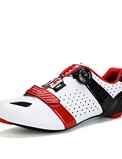 billiga Cykling-SANTIC Herr Skor för vägcykel Nylon och Karbonfiber / Kolfiber Cykling / Cykel Anti-halk, Ultra Lätt (UL), Andningsfunktion Syntetiskt