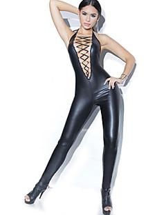billige Nattøy til damer-Dame Sexy Ultrasexy Skjorter og kjoler Nattøy - Ensfarget