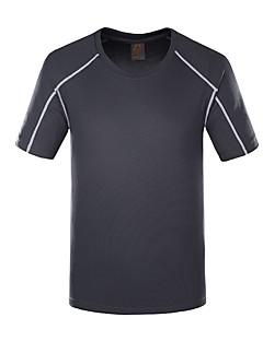 tanie Koszule turystyczne-Dla obu płci Tričko na turistiku Oddychający na Camping & Turystyka Łowiectwo Lato M L XL