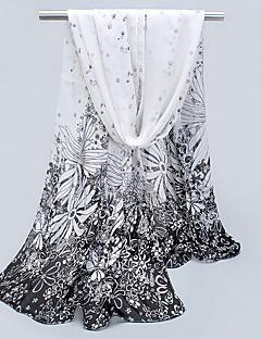 Korean Sunscreen Silk Chiffon Female Mmother Thin Long Scarf Shawls