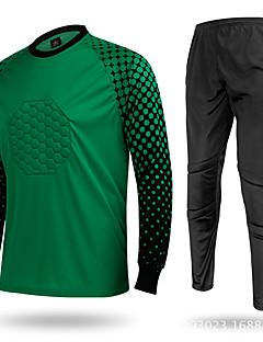 Outto® Homme Football Hauts/Tops Bas Respirable Classique Sport de détente Jaune Vert Rouge